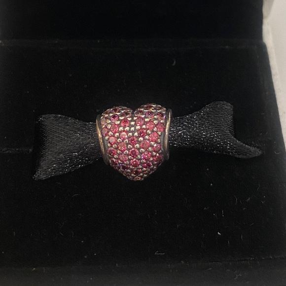 Pandora pavé heart charm!